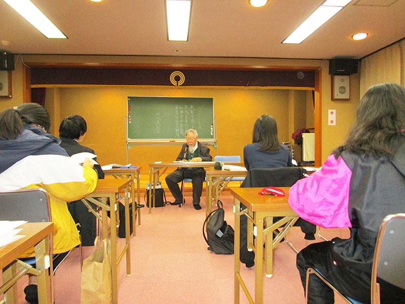 漢文特別授業を行いました