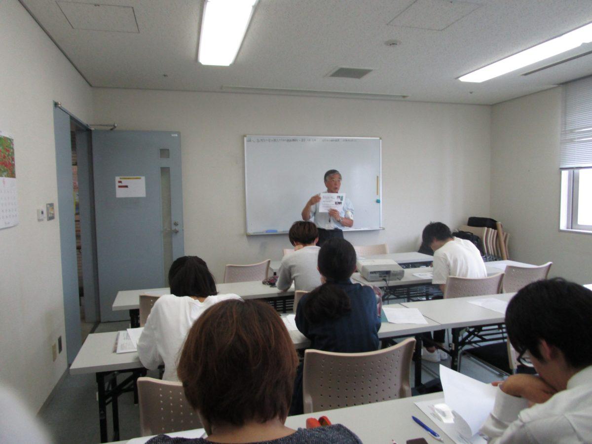学力強化のための講演会が行われました。